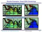 results examples smart edh climatology