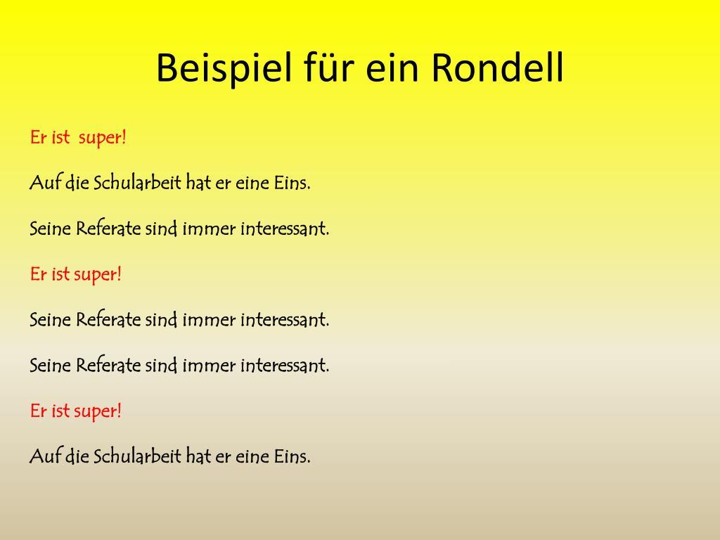 Winter rondell gedicht GGS Bielstein