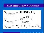 3 distribution volumes80