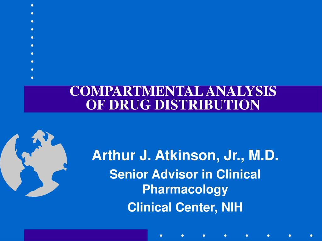 compartmental analysis of drug distribution l.