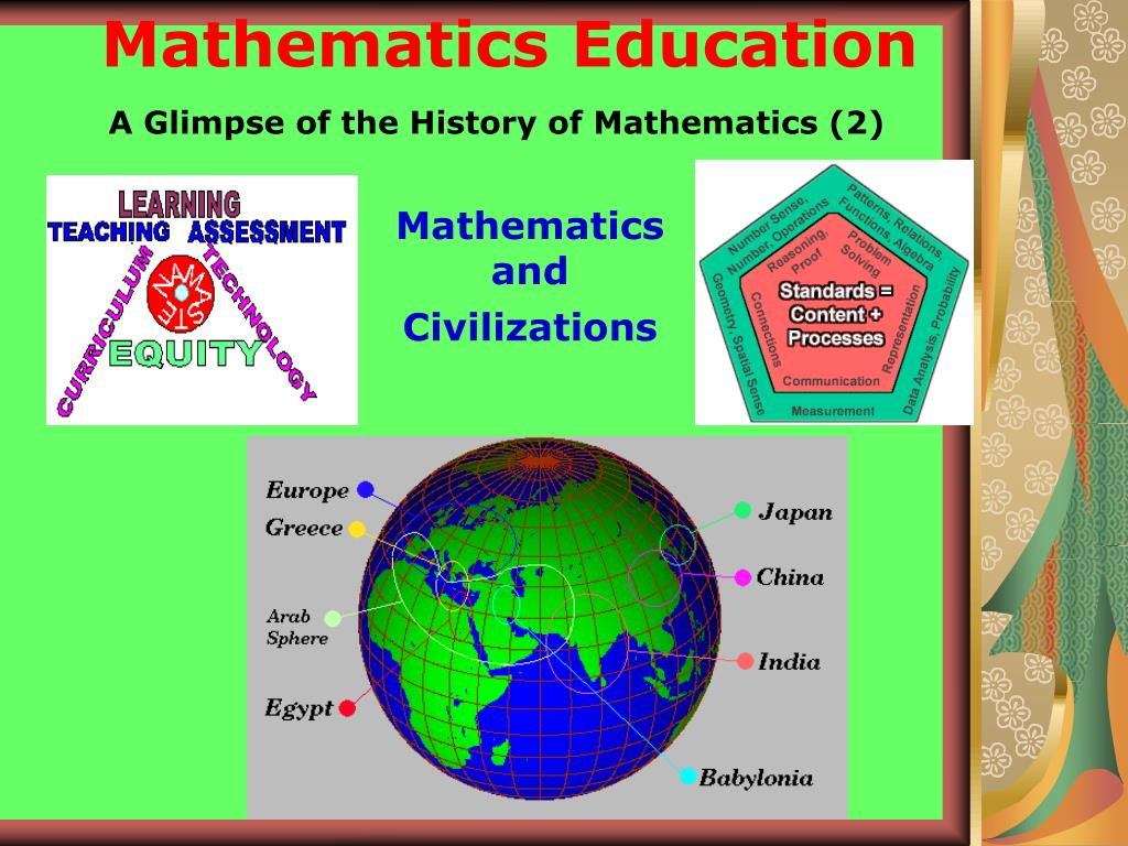A Glimpse of the History of Mathematics (2)