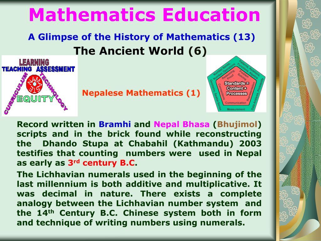 Nepalese Mathematics (1)