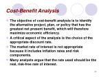 cost benefit analysis40