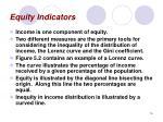 equity indicators
