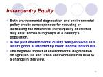 intracountry equity