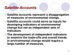 satellite accounts31