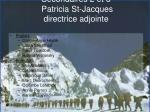 secondaires 2 et 3 patricia st jacques directrice adjointe