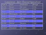 lossless join decomposition23