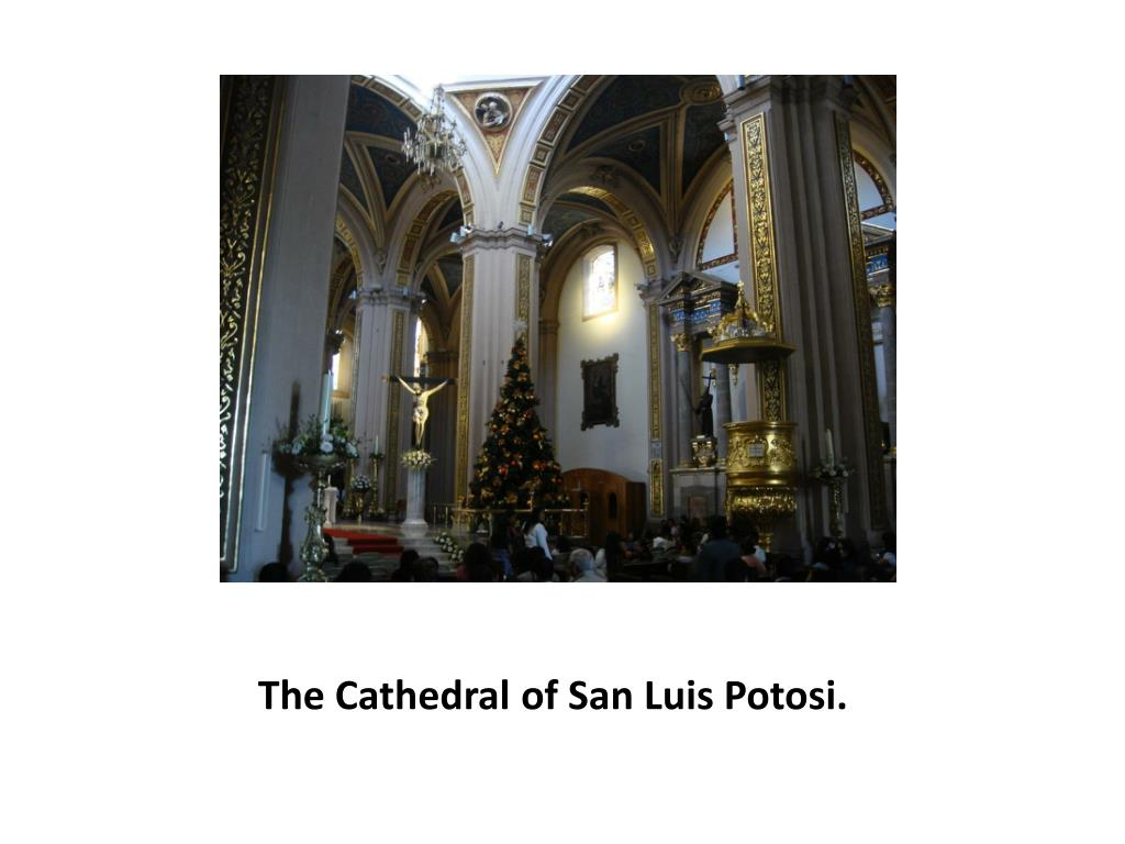 The Cathedral of San Luis Potosi.