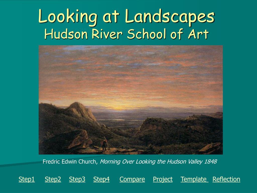looking at landscapes hudson river school of art l.