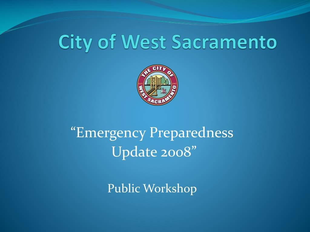 city of west sacramento l.