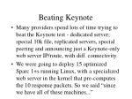beating keynote