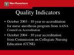 quality indicators17
