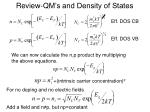 review qm s and density of states6