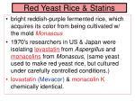 red yeast rice statins