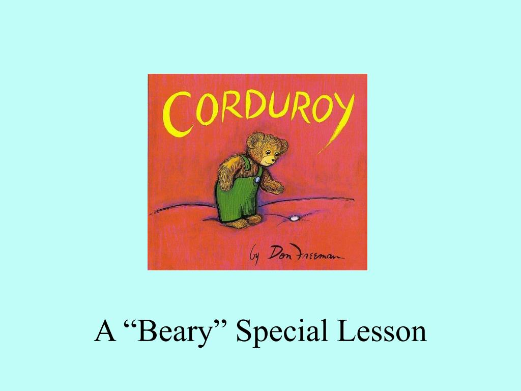 a beary special lesson l.