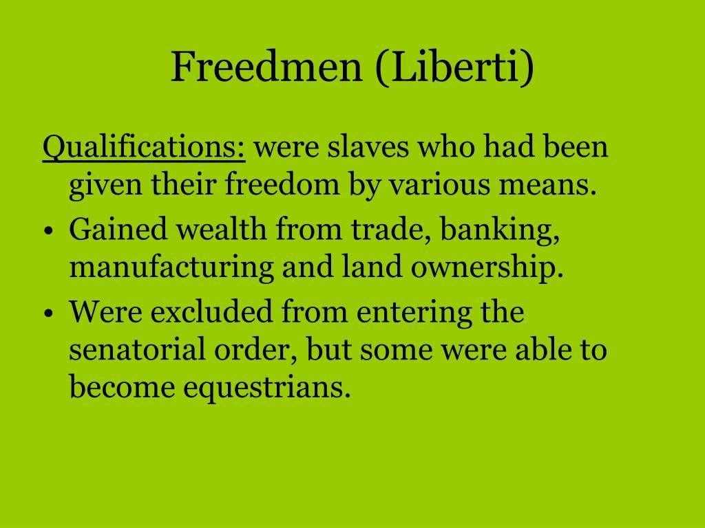 Freedmen (Liberti)