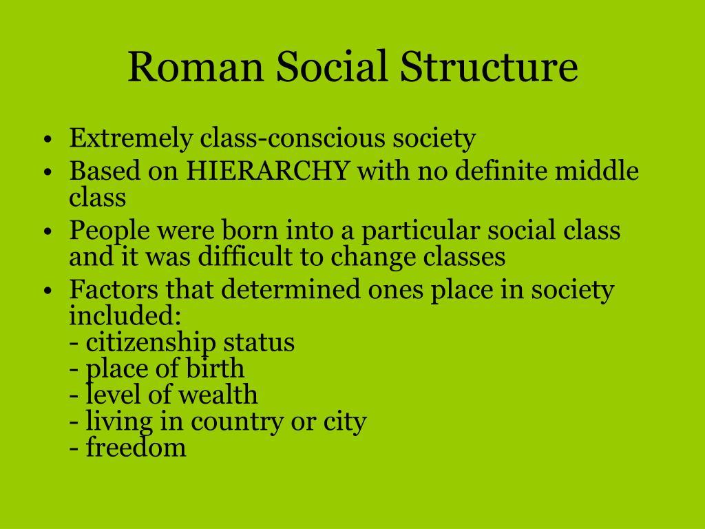 a class conscious society essay