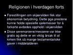 religionen i hverdagen forts