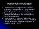 religionen i hverdagen