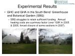 experimental results12
