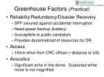 greenhouse factors practical18