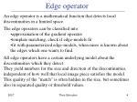 edge operator