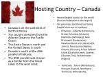 hosting country canada