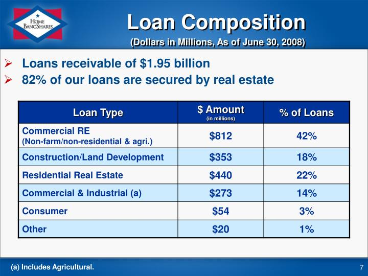 Loan Composition