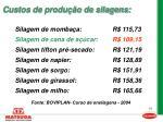 custos de produ o de silagens16
