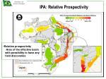 ipa relative prospectivity