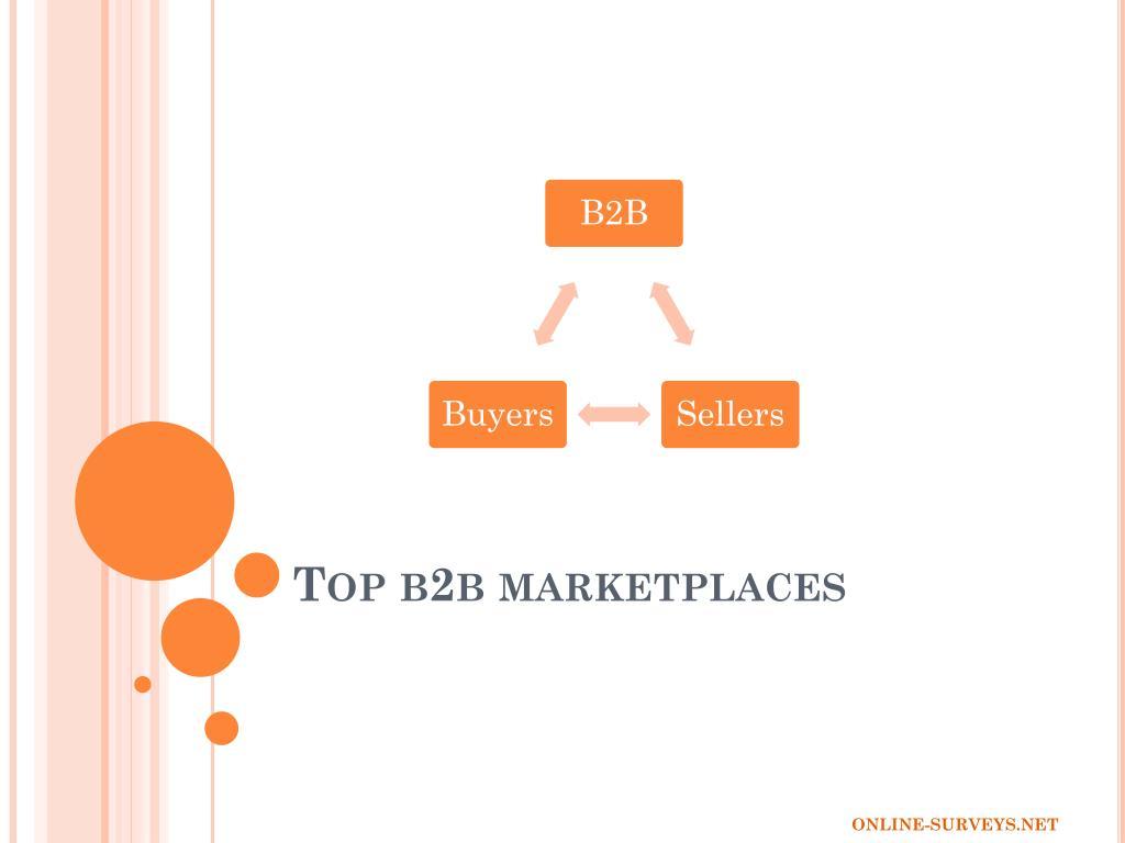 top b2b marketplaces l.