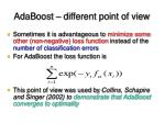 adaboost different point of view13