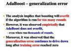 adaboost generalization error10