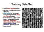 training data set