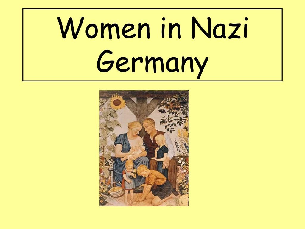 women in nazi germany l.