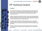itf technical content19