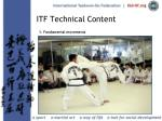 itf technical content21