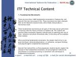 itf technical content22