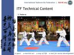 itf technical content23