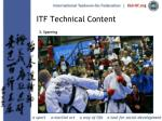 itf technical content26