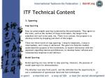 itf technical content27