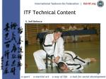 itf technical content33