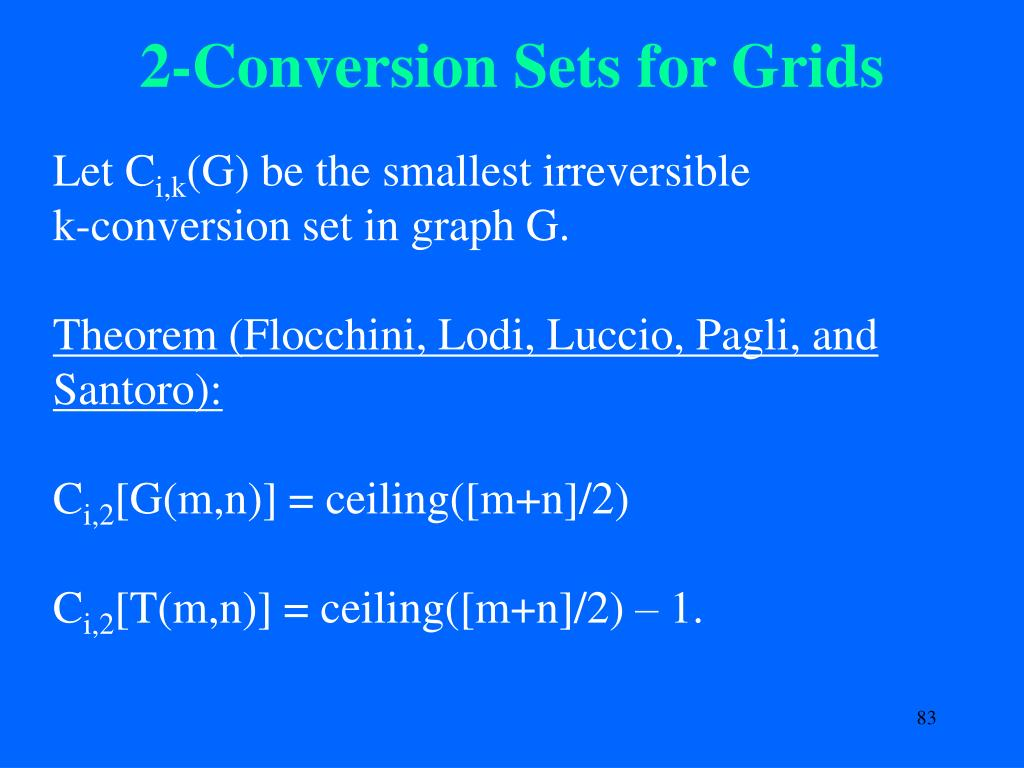 2-Conversion Sets for Grids