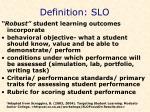 definition slo