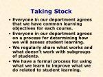 taking stock36