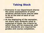 taking stock44
