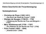 gleichberechtigung und oder emanzipation frauenbewegungen 128