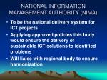 national information management authority nima