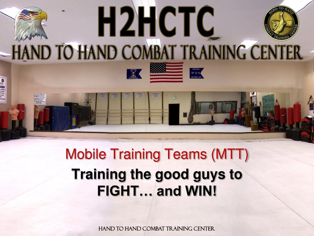 mobile training teams mtt training the good guys to fight and win l.